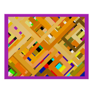 107 Color Frames3 jGibney The MUSEUM Zazzle Gifts Poster