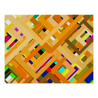 107 Color Frames jGibney The MUSEUM Zazzle Gifts Poster