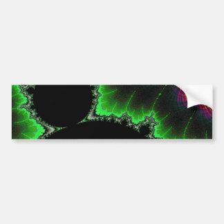 108-11 big black mandy with green aura bumper sticker