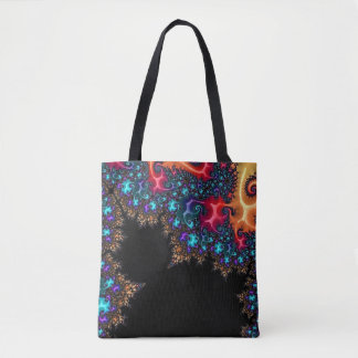 108-50 big black mandy among the stars tote bag