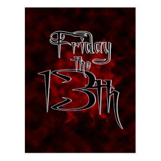 10-13 Friday the 13th Postcard