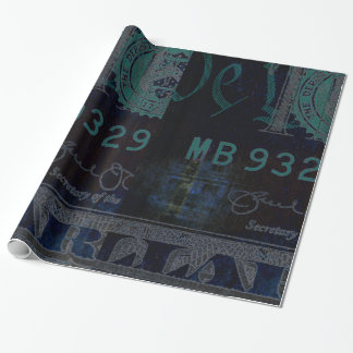 $10 Bill Wrapping Paper