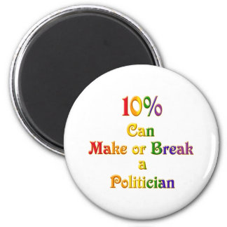 10%  Can Make Or Break Magnet