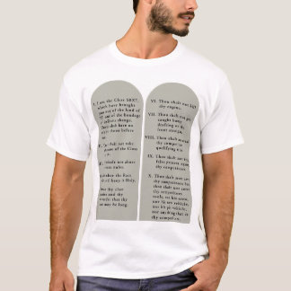 10 Commandments, SRX7 Style T-Shirt