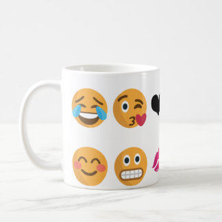 10 Emoji Coffee Mug