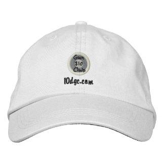 $10 Gun Club White Hat Embroidered Hats