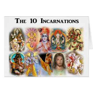 10 Incarnations Card