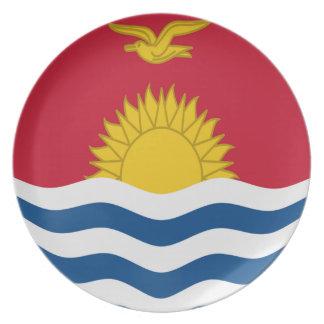 10 inch Plate Kiribati flag