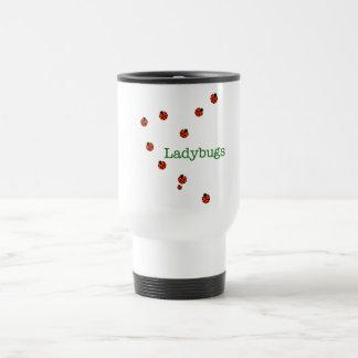 10 ladybugs travel mug