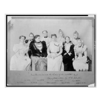 10 Mrs. Cleveland Ladies Cabine Poster