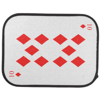 10 of Diamonds Car Carpet