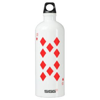 10 of Diamonds Water Bottle