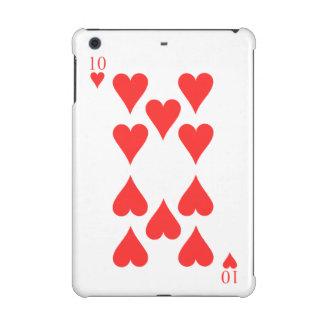 10 of Hearts iPad Mini Cover