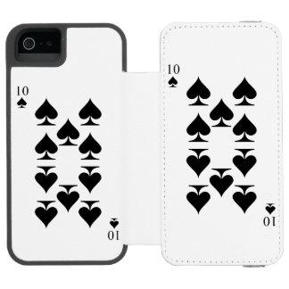 10 of Spades Incipio Watson™ iPhone 5 Wallet Case