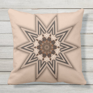 10 Point Star Throw Pillow