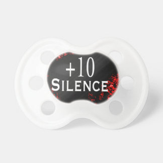 +10 Silence Pacifier