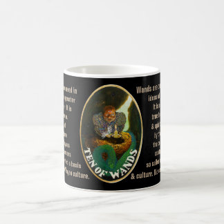 10. Ten of Wands - Sailor tarot Coffee Mug