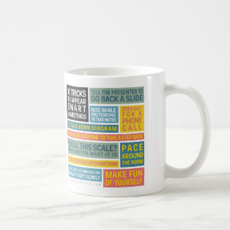 10 Tricks to Appear Smart During Meetings Classic White Coffee Mug