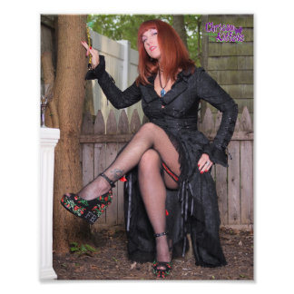 "10"" x 8"" Chrissy Kittens Witch Setting Photo Print"
