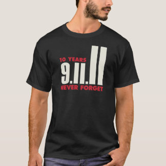 10 Year Anniversary September 11th Shirt