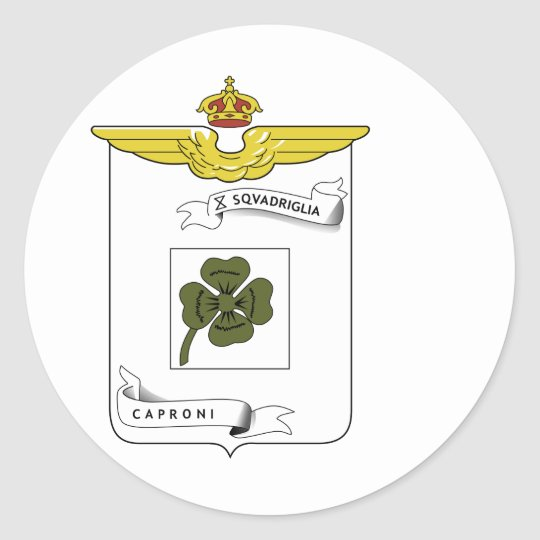 10a Squadriglia Classic Round Sticker