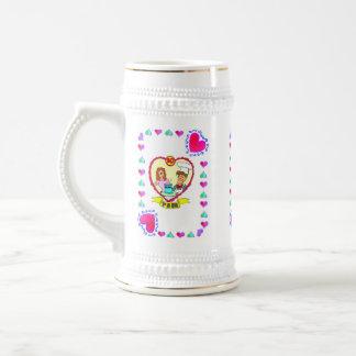 10ème Anniversaire épousant la tasse d'Anniversay