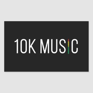 10K Music Sticker
