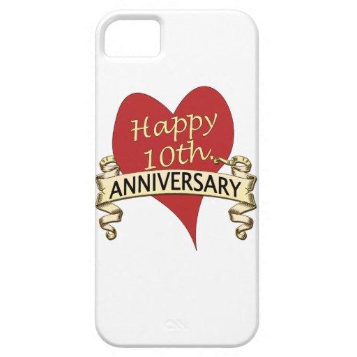 Th anniversary iphone cover zazzle
