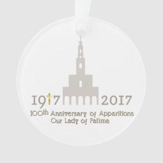 10th Anniversary of Apparitions - Fatima Portugal Ornament