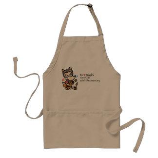 10th anniversary standard apron