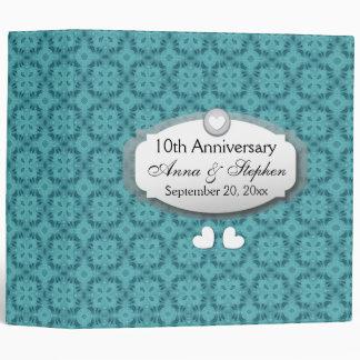10th Anniversary Wedding Anniversary Z09 Binders