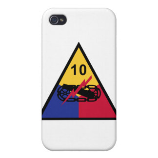 10th Armored Division Cases For iPhone 4
