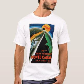 10th Automobile Rally de Monte Carlo T-Shirt