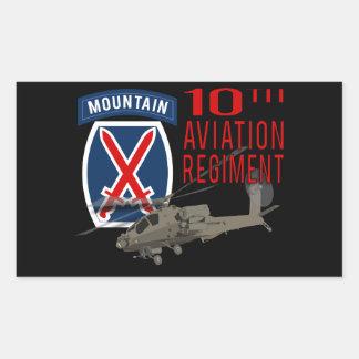 10th Aviation Regiment - Apache Sticker