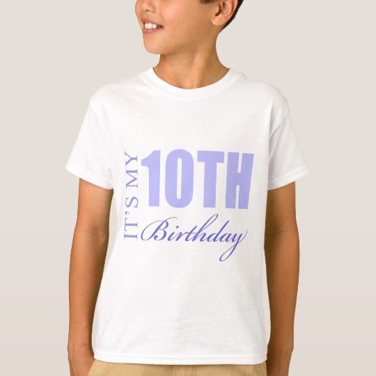 10th Birthday Gift Idea T-Shirt