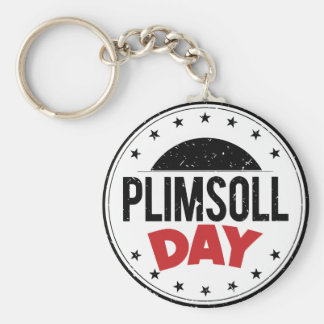 10th February - Plimsoll Day - Appreciation Day Keychain