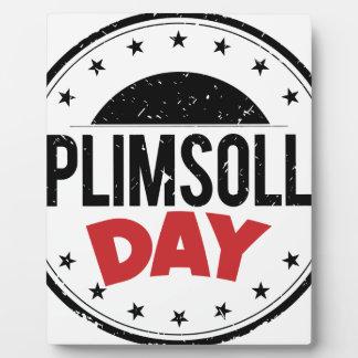 10th February - Plimsoll Day - Appreciation Day Plaque