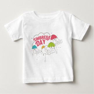 10th February - Umbrella Day - Appreciation Day Baby T-Shirt