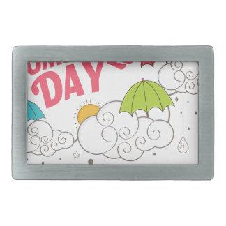 10th February - Umbrella Day - Appreciation Day Belt Buckles