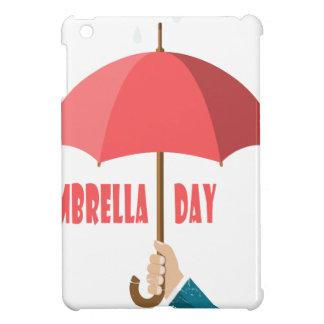 10th February - Umbrella Day - Appreciation Day iPad Mini Cover