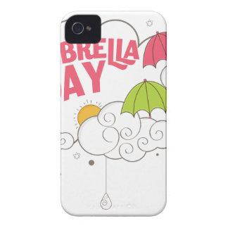 10th February - Umbrella Day - Appreciation Day iPhone 4 Case