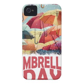 10th February - Umbrella Day - Appreciation Day iPhone 4 Cover