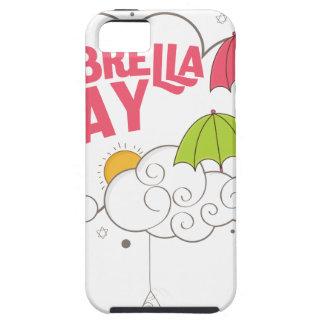 10th February - Umbrella Day - Appreciation Day iPhone 5 Cover