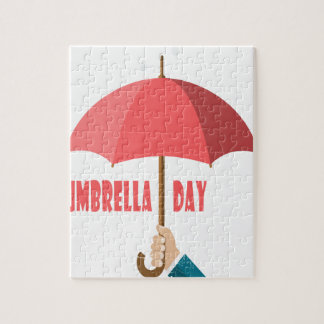10th February - Umbrella Day - Appreciation Day Jigsaw Puzzle