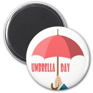 10th February - Umbrella Day - Appreciation Day Magnet
