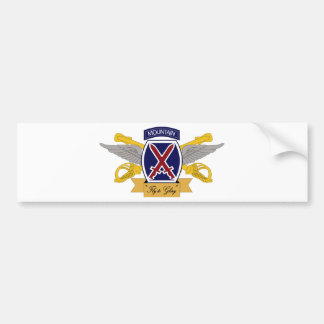 10th Mountain Division Aviation (AVN) Bumper Sticker