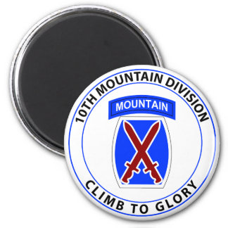 10th Mountain Division Magnet