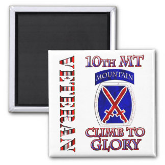 10th Mountain OEF Magnet