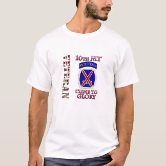 10th Mountain OEF OIF Veteran T-Shirt