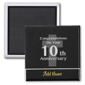 10th Ordination Anniversary Clergy GIFTS Under $6! Magnet